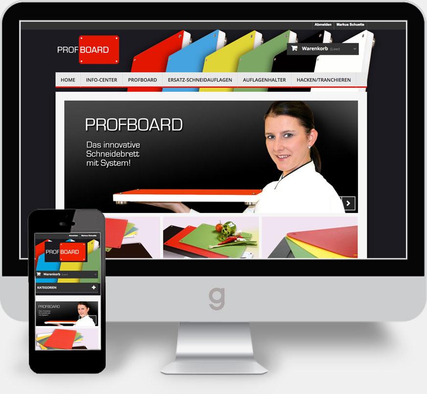 Profboard Web